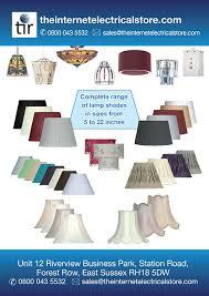 cream cotton drum lamp shade 6 inch s901 6cr oaks lighting