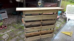 pallet furniture patio. Custom Pallet Outdoor Patio Bar Furniture G
