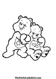 Small Picture Care Bears Love a Lot Hugs Coloring printable page coloring