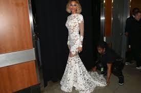 Beyonce Grammy Dress Designer