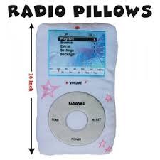 pillow radio. ipod pillow! pillow radio