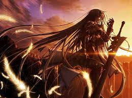 Anime Warrior Girl Wallpapers - Top ...