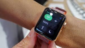 apple 3 watch. apple watch series 3 first look
