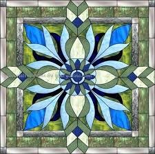 stained glass fake stain glass tropical door window stained diy