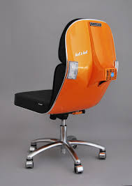 recycled vespa office chairs. 80\u0027s Italian Scooter Swivel Chairs - More Via Trouge.com Recycled Vespa Office F