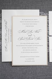 Traditional Wedding Invitation Gold Wedding Invitation Formal Wedding Invitation Simple Wedding