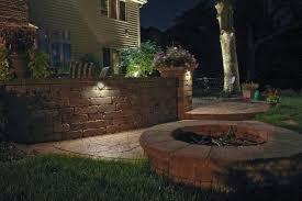 amazing outdoor accent lighting and light close up pillar lights wall lights retaining wall lighting