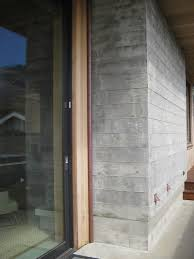 exterior exposed concrete wall finishes