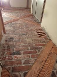 Brick Floors In Kitchen Farmhouse Kitchen Brick Floors 1900 Farmhouse Kitchen Floor Tsc