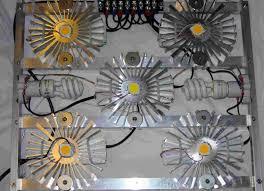 diy led grow light front
