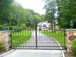 modern metal gate. Modern Metal Driveway Gates Wrought Iron Automatic Gate Picture Modern Metal Gate