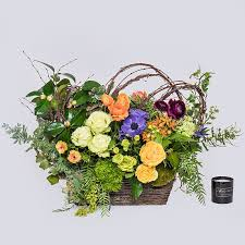 garden bouquet. Our Signature Design - A Bright Colored Garden Mix Of Roses, Greenery Bouquet