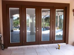 mobile home patio doors fiberglass french with blinds between glass prefab homes 9