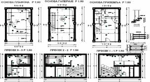 residential interior design; interior auto cad drawing of Waltz House  project ...