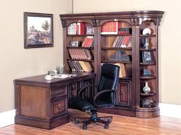 computer desk for office. Peninsula Desk Office Furniture 5 Piece Corner Wall Unit In Chestnut Finish By House . Computer For T