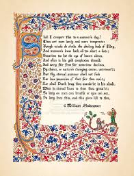 william shakespeare s sonnet so there s that   sonnet 18 sonnet 18 by theophilia d758iv9
