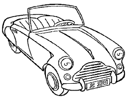 Auto Kleurplaat Animaatjesnl