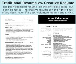 Modern Column Resume Your Creative Resumes Might Be Keeping You Out Of Work