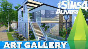 gallery work home. The Sims 4 Get To Work - House Build Art Gallery Home L