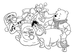 Small Picture Winnie and friends coloring pages for kids printable free