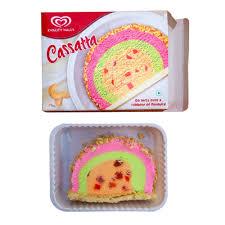 Kwality Walls Cassatta 125 Gms Box Ice Cream Desserts