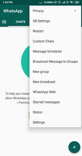 Gbwhatsapp is a cracked version of a very famous and widely used messaging platform whatsapp with numerous customization options. Gbwhatsapp Apk Download V15 60 2 May 2021 Latest Version Official