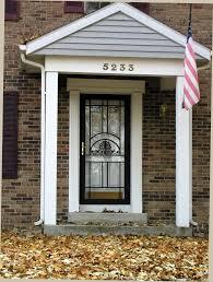 front storm doorsSteel security storm door for safety Cleveland Columbus