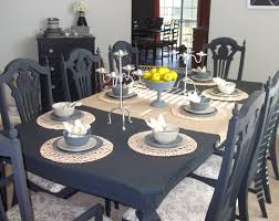 painted dining room furniture ideas. Dining Room Table And Chairs Completed ~ Finally! Painted Furniture Ideas A