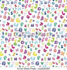 Abc Pattern Inspiration Bubble Abc Pattern Seamless Pattern Of The Abc Bubble Letters