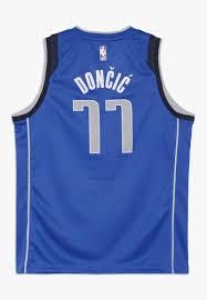 Nike Performance NBA DONCIC LUKA DALLAS MAVERICKS BOYS ICON SWINGMAN - Top  - game royal/blau - Zalando.de