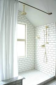 subway tile gray grout bathroom white subway tiles with grey grout white bathroom tile with grey
