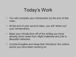 writing the introduction of your essay an introduction should  6 today s