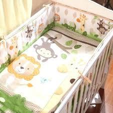 cradle bedding sets baby cradle bedding baby crib bedding set lovely animal monkey giraffe crib per