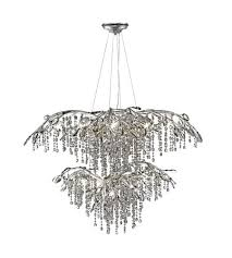 golden lighting 9903 18 msi autumn twilight 18 light 40 inch mystic silver chandelier