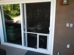 dog door attachment for sliding door