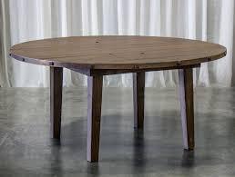 edison 66 round darkwood table