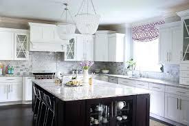 white and gray granite countertops purple kitchen accents steel gray granite countertops with white cabinets