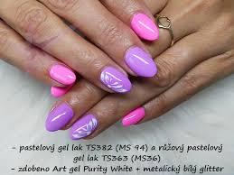 Gel Lak Top Star Ts363 10ml Pastelový Růžový Gellak