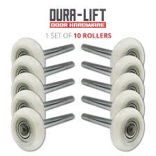 nylon garage door rollersUltraQuiet 2 Precision 13Ball Bearing Nylon Garage Door Roller