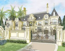 French Mansions Designs The Abuja French Chateau Nigeria Africa
