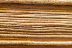 texture of old book pages side view stock photos