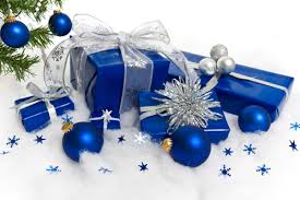 Blue and Silver Xmas Decorations - Bing Images