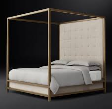 View in gallery Four-poster bed from RH Modern