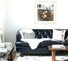 black couch decor black leather sofa decorating ideas black leather couch decor black leather sofa living