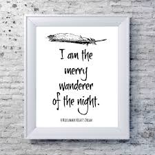 Midsummer Nights Dream Quotes Best of A Midsummer Night's Dream Quote Literary Typography Print White