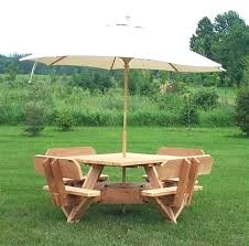picnic table with umbrella patio table with umbrella hole our most unique picnic table patio table