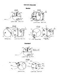 chevy wiring diagrams 1935 1936 1935 36 switches · 1935 36 switches
