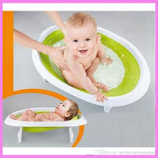2018 2 in 1 foldable newborn baby bathtub baby sitting lying shower bath support tub bucket bath support safety seat 0 18 m from strolexbaby