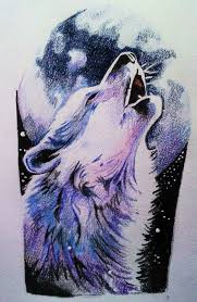 howling wolf drawing tattoo. Wonderful Drawing Howling Wolf Arm Piece For My GF Will Be Tattoou0027d Nxt Week Will Post Pics  Of Final Tattoo Wolf To Drawing Tattoo