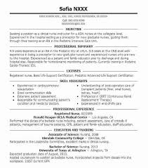 Rn Resume Samples New Grad Resume Template Rn Resume Sample Med Surg ...